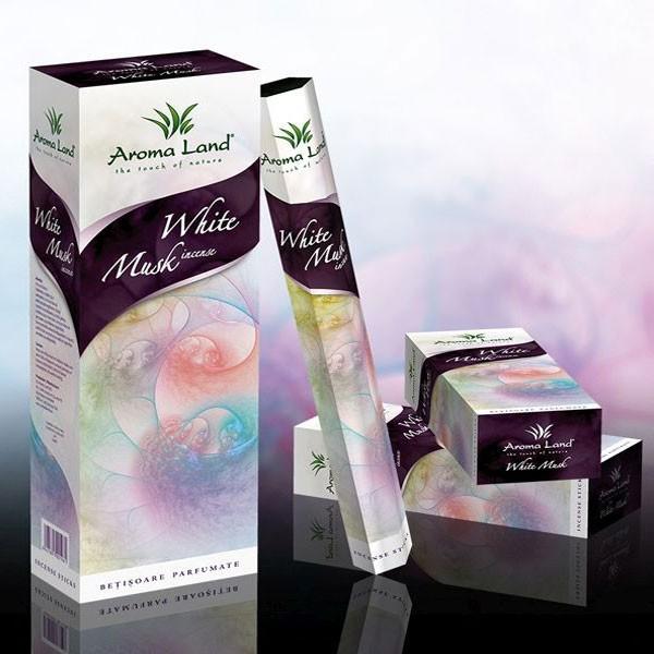 Betisoare parfumate White Musk