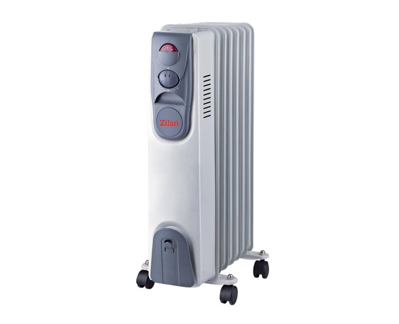 Calorifer cu ulei, termostat reglabil, protectie la supraincalzire, 1500 W, 7 elementi