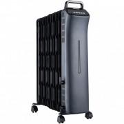 Calorifer electric, 11 elementi, termostat, control digital, sistem siguranta in caz de rasturnare, 2500W, HEINNER