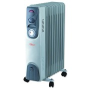 Calorifer electric cu timer Zilan, 13 elementi, 2500 W, 3 trepte, termostat