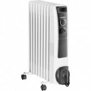 Calorifer electric cu ulei, 9 elementi, protectie supraincalzire, termostat reglabil, 2000W, HEINNER