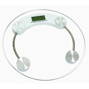 Cantar electronic de persoane Hausberg, platforma sticla transparenta,150 kg