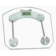 Cantar electronic de persoane Hausberg, platforma sticla transparenta,150 kg maxim
