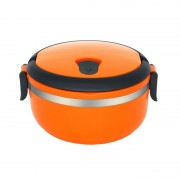 Caserola termica 0.7L, Orange, Heinner