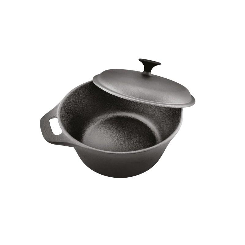 Cratita Cooking by Heinner, fonta pura, + capac 24 x 10.8 cm, 3.8 L