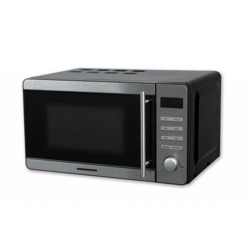 Cuptor cu microunde Heinner, 20 l, 700 W, Digital, Grill, Timer,Inox