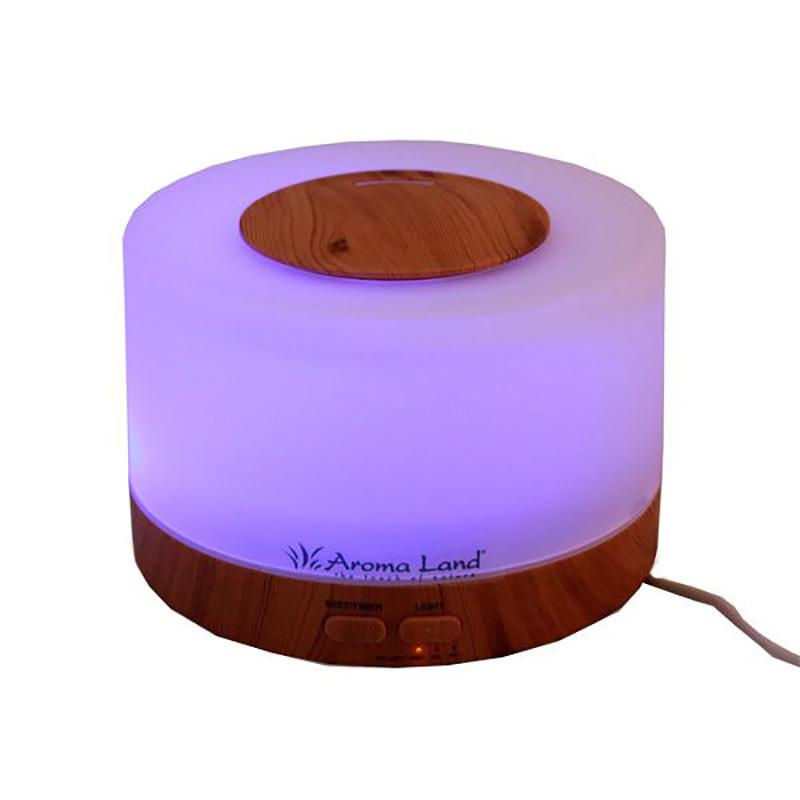 Difuzor de Aromă cu Ultrasunete Oslo Aroma Land,Formă Rotundă,Alimentare USB 5V,Lumina LED