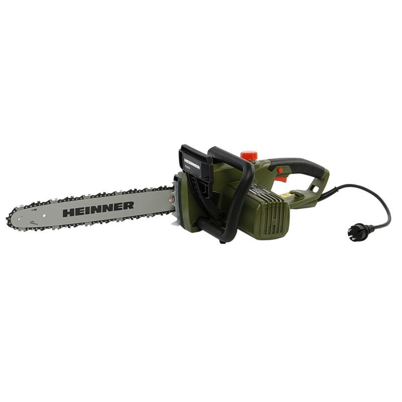 Drujba electrica cu lant (fierastrau) Heinner, 2200 W, 230 V, 40 cm lungime lama, 15 m/s viteza lant