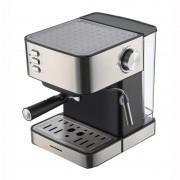 Espressor cu rezervor  1.6L, 850W, 20 bar, filtru din inox, plita mentinere cafea calda, decoratii inox, Heinner