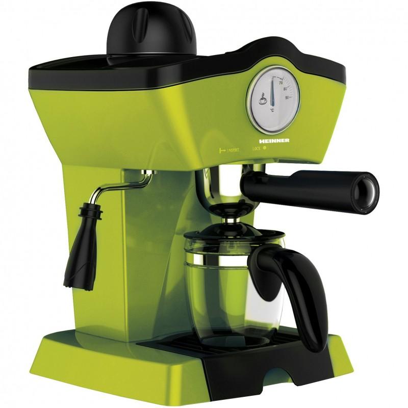Espressor Heinner, 800W, 3.5 bar, filtru inox, 250 ml