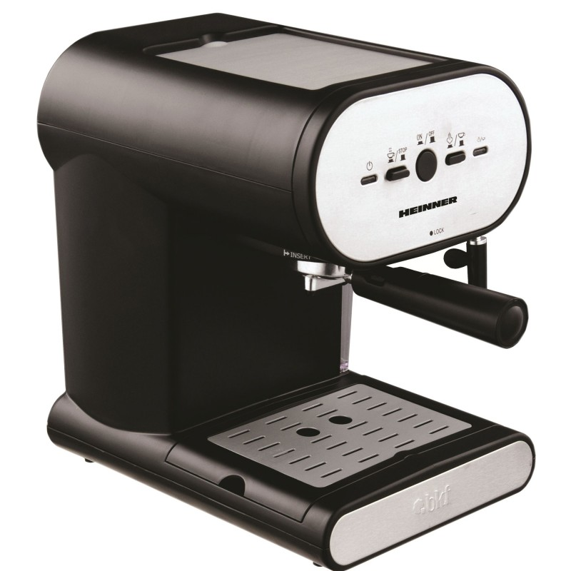 Espressor manual Heinner Soft Cream, 1050W, 15 bar, 1l