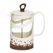 Infuzor Herevin din sticla , pentru ceai sau cafea, 1000ml