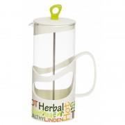 Infuzor Herevin din sticla , pentru ceai sau cafea, 400ml