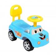 Masinuta cu functie de trotineta , fara pedale , micmax (albastru)