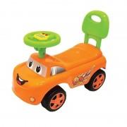 Masinuta cu functie de trotineta , fara pedale , micmax (portocaliu)