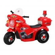 Motocicleta electrica cu acumulator, pentru copii , Jolly Kids (rosu)