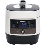 Multicooker cu gatire la presiune Heinner, 4.5 L, 14 programe, Vas antiadeziv detasabil, Presiune reglabila, display LED