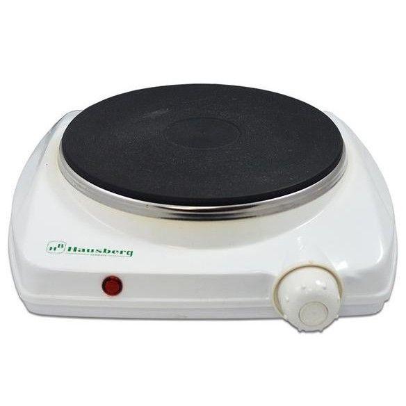 Plita electrica Hausberg, 1500 W, 1 arzator si termostat