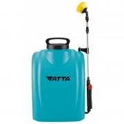 Pompa pentru stropit Tatta, acumulator, 12V 8Ah, incarcator 1 A, motor 3.6 lpm, tip rucsac, 18 l