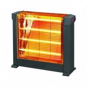 Radiator  de tip semineu cu termostat reglabil, si 4 rezistente quartz,  putere 2200W, Zilan
