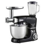 Robot de bucatarie multifunctional Hausberg,1000W, Mixer, Blender, Tocat carne, Bol 5l