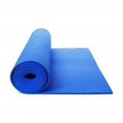 Saltea yoga Grunberg cu design roll-up si suprafata anti-alunecare, (albastru)