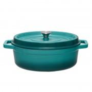 Semioala ovala fonta emailata Cooking by Heinner, Taste of Home by Chef Sorin Bontea 33 x 26.5 x 11.5 cm, 5.9 L