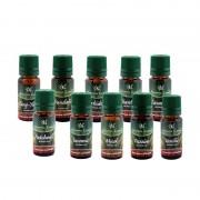 Set 10 uleiuri  parfumate Aromaterapie , 10 ml, Diferite Arome