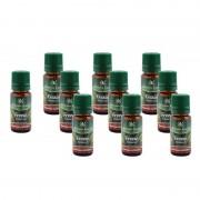Set 10 Uleiuri parfumate aromaterapie Frezie,10 ml