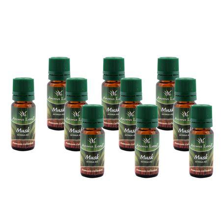 Set 10 Uleiuri parfumate aromaterapie Musk,10 ml