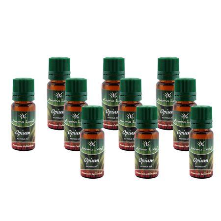 Set 10 Uleiuri parfumate aromaterapie Opium,10 ml