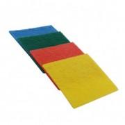 Lavete fibra abraziva 14 x 9 cm,4 in set