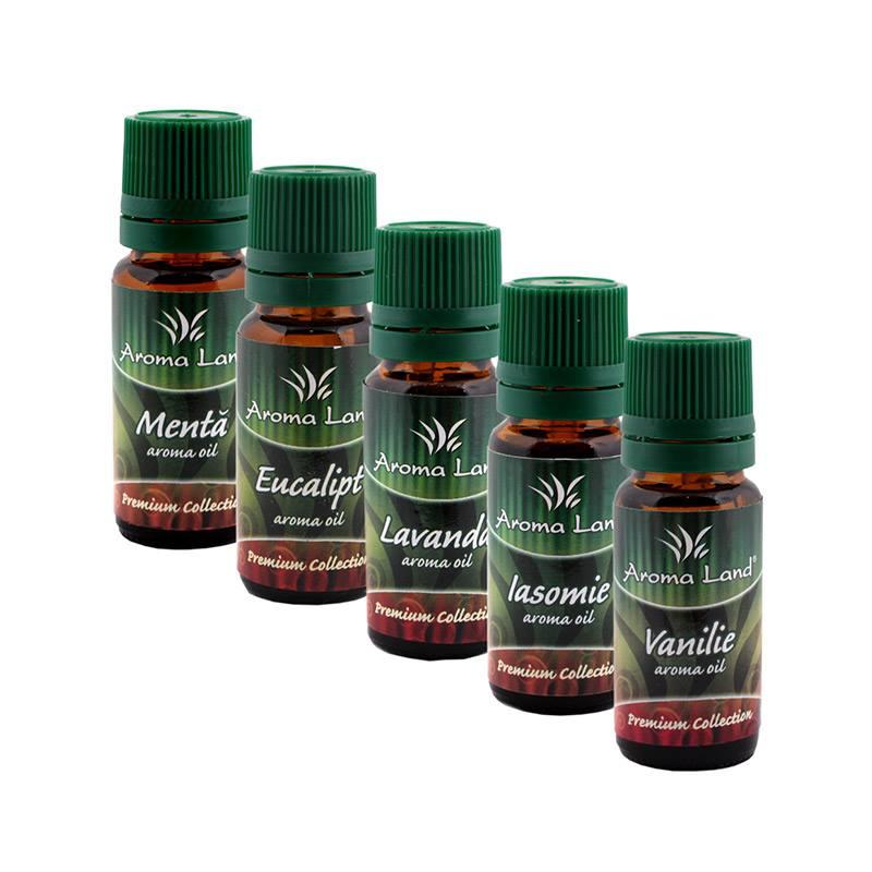 set 5 Uleiuri parfumate Aromaterapie 10 ml