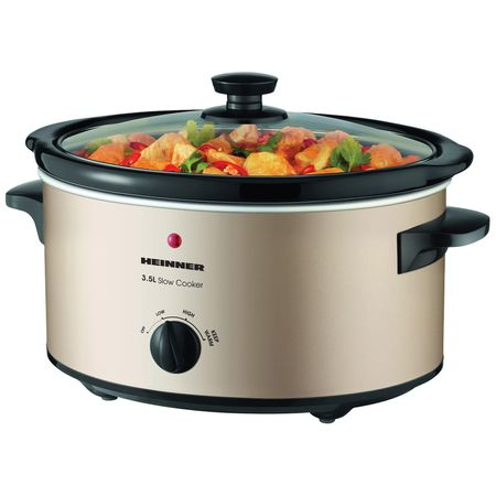Slow Cooker Heinner, 3.5 L, 135 W, 2 Setari temperatura