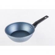 Tigaie wok din aluminiu Grunberg, Placata cu ceramica, 1.60 l, 20cm