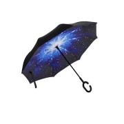 Umbrela de ploaie cu  Imprimeu Interior Univers,106 cm