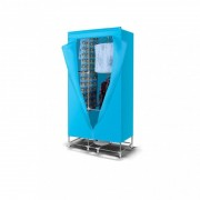 Uscator pentru rufe,  electric, 15 kg , 1000 W, Bleu