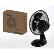 Ventilator de birou , Putere 35 W,  Diametru 34 cm, Functie oscilatorie, 3 trepte de viteza, Floria