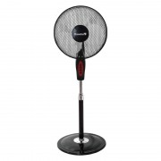 Ventilator cu 3 trepte de viteza,motor aluminiu, 45 W,16 Inch,oscilatie automata,Hausberg