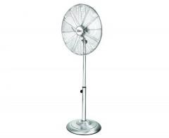 Ventilator inox cu picior, 3 trepte de viteza, 50W, Inaltime reglabila 88-120 cm, Zilan