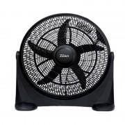 Ventilator rotund cu suport, 75 W, 3 trepte ventilare, Zilan